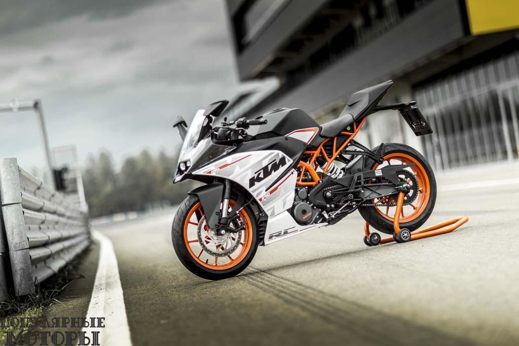 Фото мотоцикла KTM RC390 2015