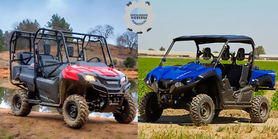 Honda Pioneer 700-4 против Yamaha Viking 700 2014 — сравнение характеристик