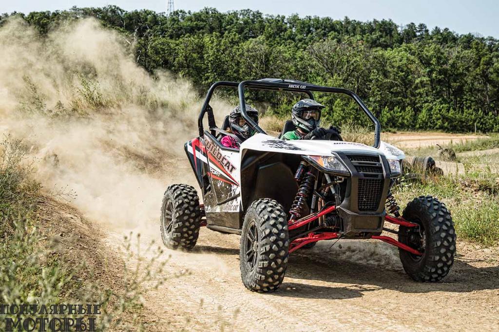 Новая 60-дюймовая модель Wildcat Sport оснащёна тем же 700-кубовым двигателем, что и 50-дюймовая Wildcat Trail.