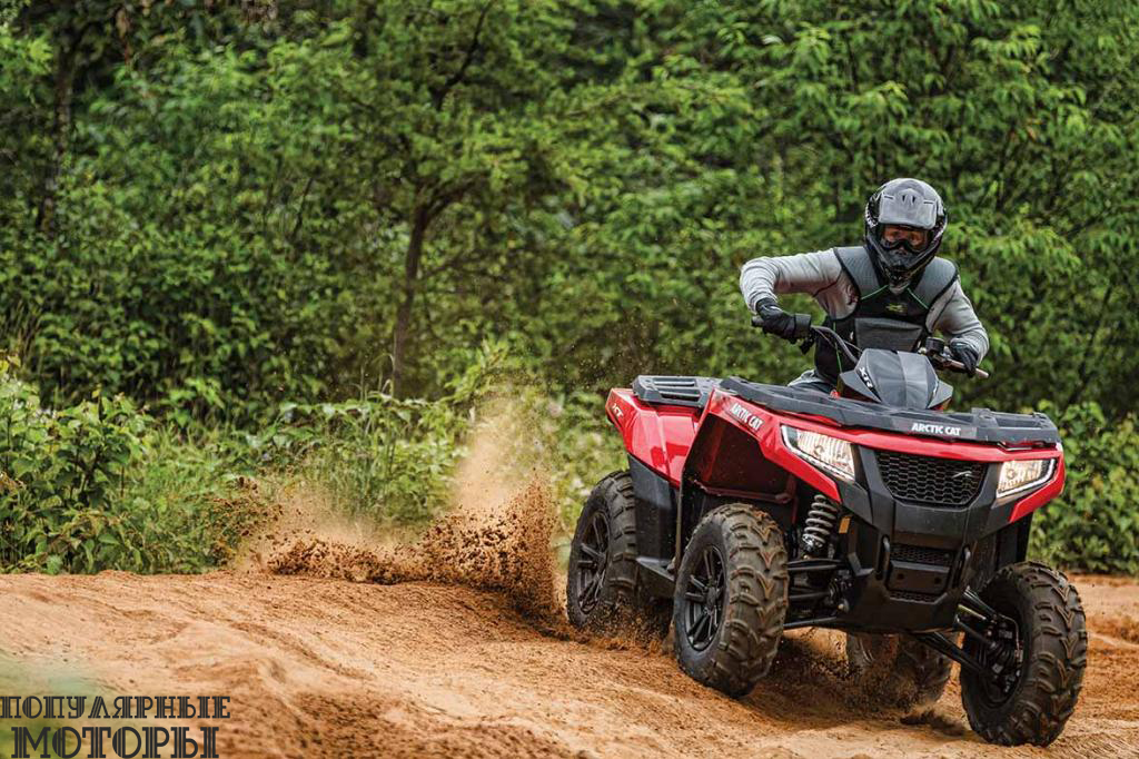 Квадроциклы серии XR доступны с тремя вариантами объёма двигателям и таким же количеством пакетов опций.