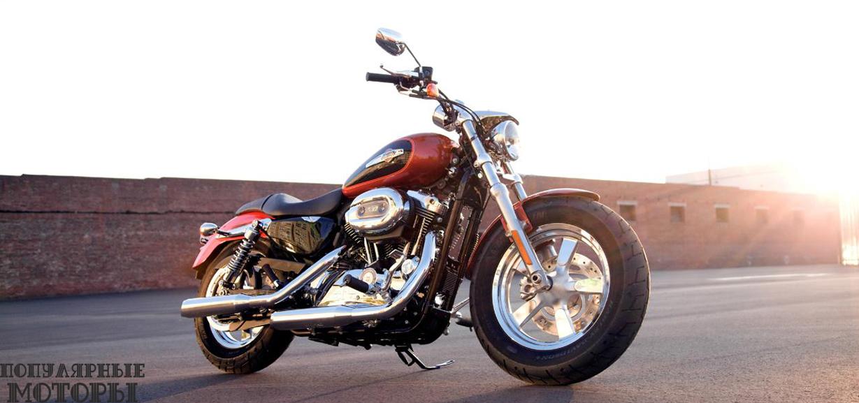 Обзор Harley-Davidson Sportster 1200 Custom 2015