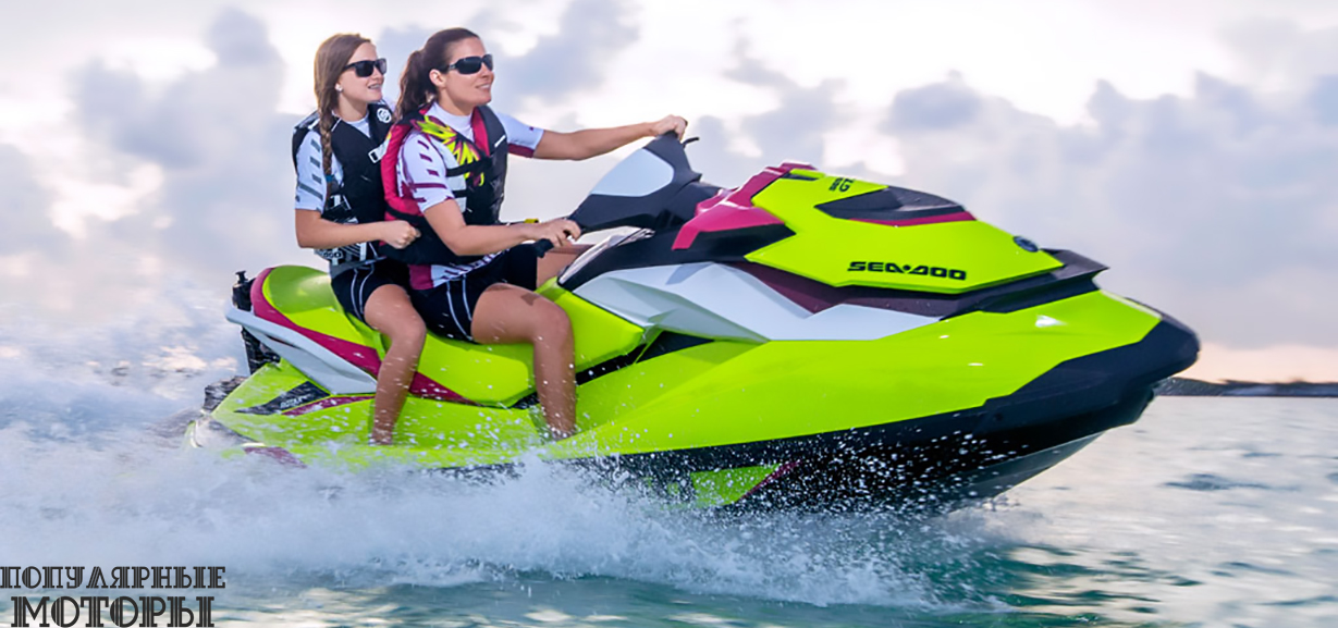 Анонс модельного ряда гидроциклов Sea-Doo 2015 года
