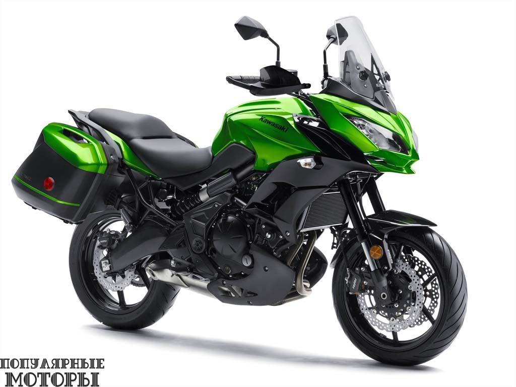 Фото анонса Kawasaki Versys 650 ABS:650 LT 2015 - 650 LT