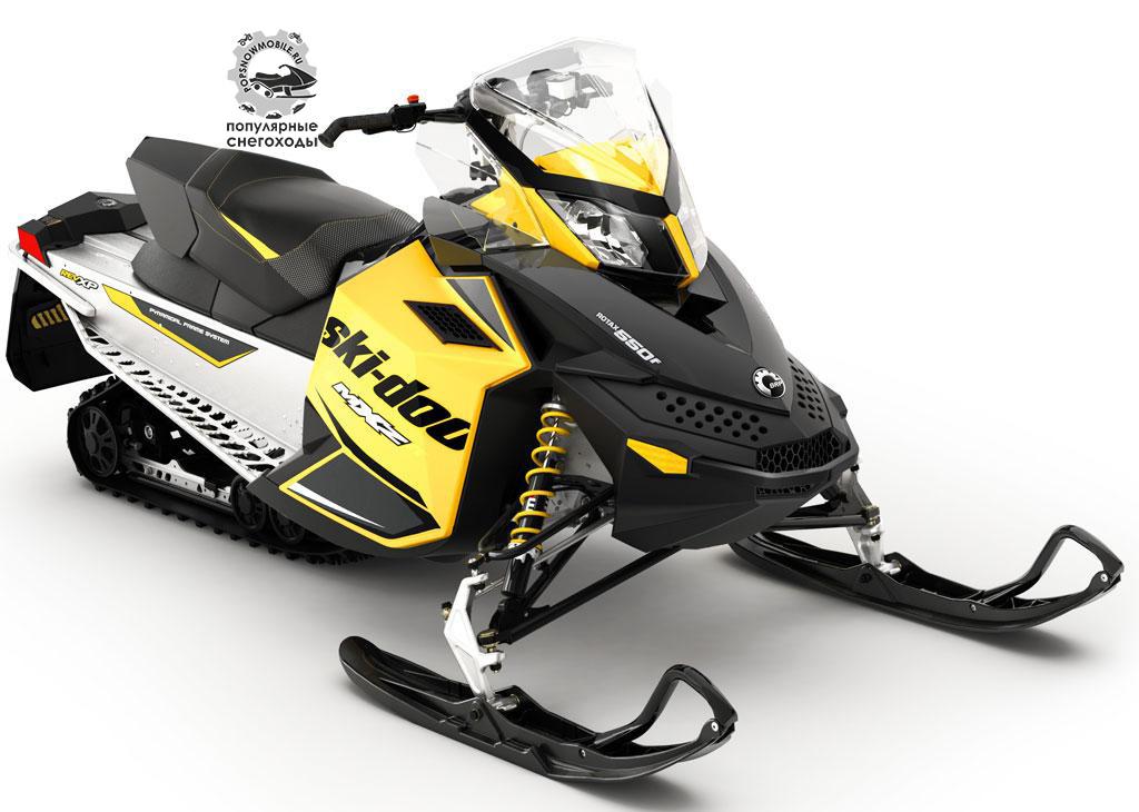 Ski-Doo MXZ Sport 550 может похвастаться потрясающим ходом задней подвески –15 дюймов.
