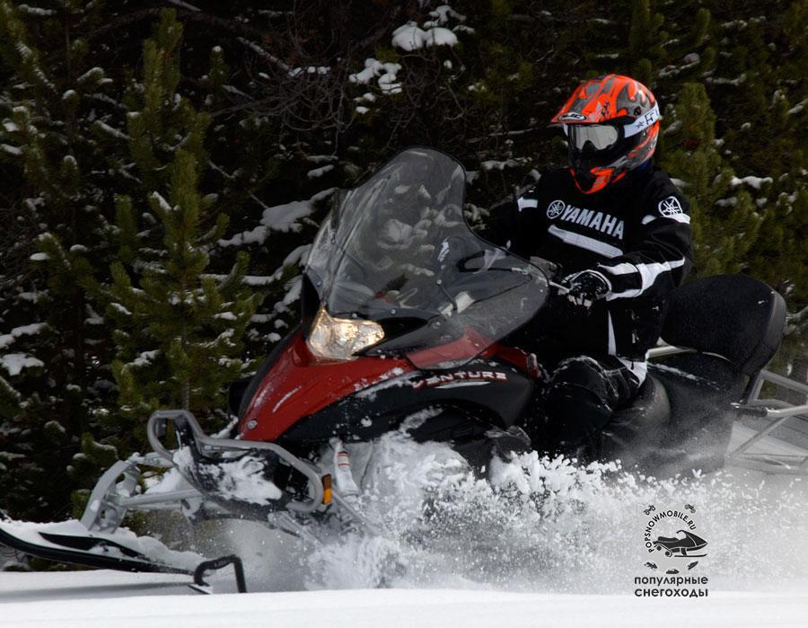 Yamaha расширили свой модельный ряд утилитарных снегоходов, Venture MP.