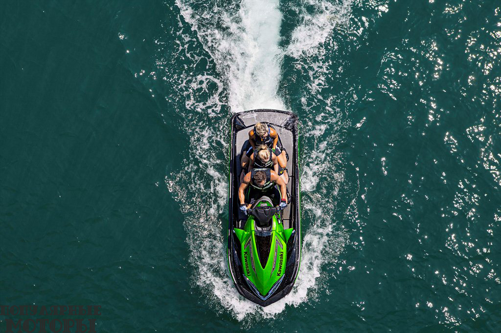 Фото Kawasaki Jet Ski Ultra 310LX 2015 - вид сверху