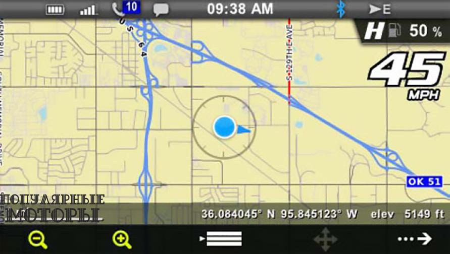 Фото Polaris Interactive Digital Display - GPS