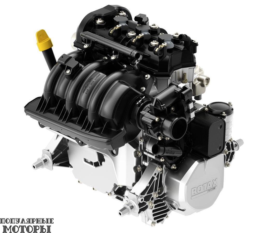 Мотор Rotax 900 ACE разрабатывался с командой конструкторов снегоходов Ski-Doo и доступен в двух версиях с мощностью 60 или 90 лошадиных сил.