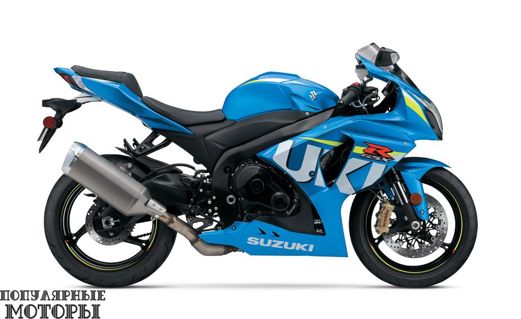 Кстати, компания Suzuki во всеоружии готова к участию в MotoGP в 2015 году. Для моделей GSX-R1000 (на фото), 750 и 600 даже сделали опцией раскраску гоночной команды Suzuki.