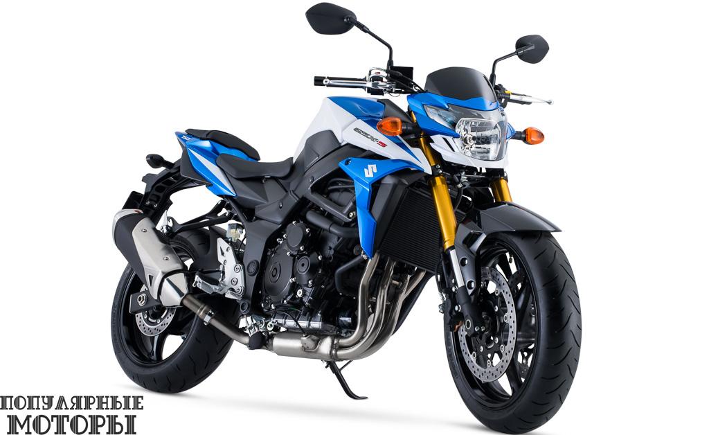 Фото анонса модельного ряда мотоциклов Suzuki 2015