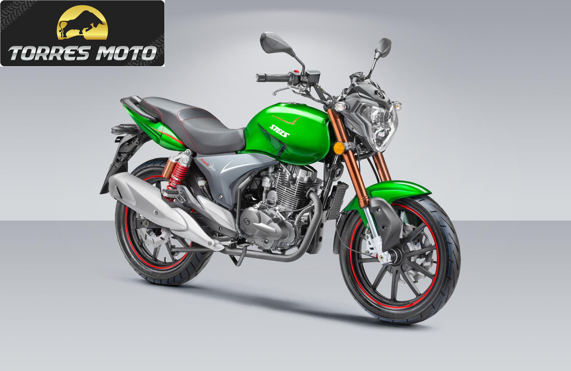 Продается мотоцикл STELS FLAME 200