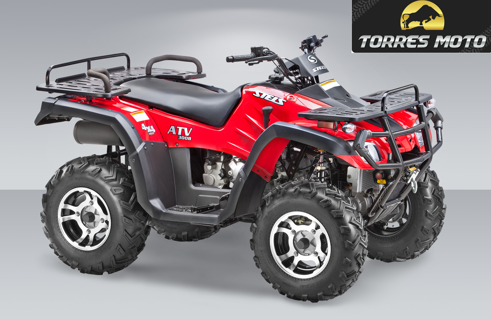 Продается квадроцикл STELS ATV 300 В 2014 года