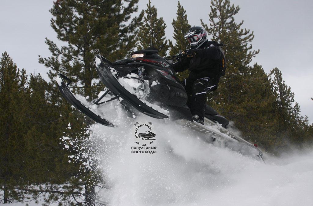 Фото лучшего турбированного горного снегохода 2012 Yamaha Turbo:Supercharger Nytro