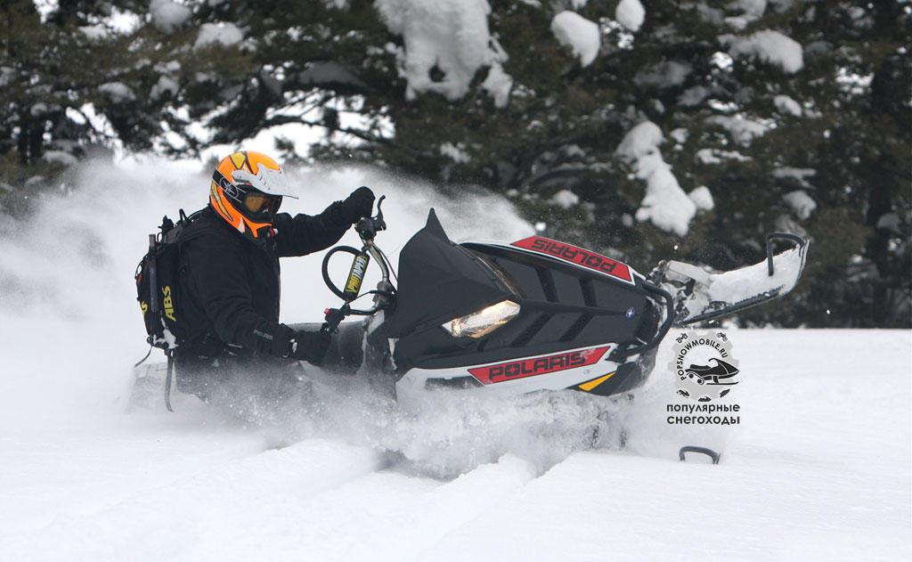 Фото лучшего 600-го горного снегохода 2012 Polaris RMK Pro 600 2012