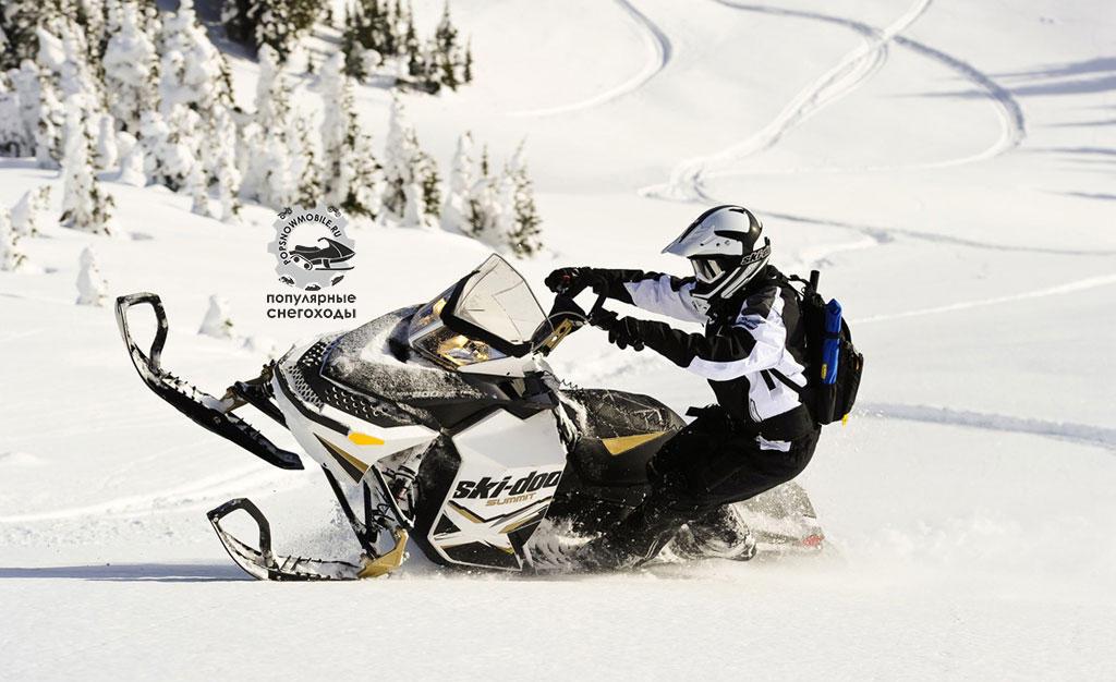 Фото лучшего 800-го горного снегохода 2012 Ski-Doo Summit X 154 2012