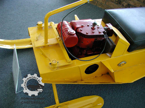 Фото снегохода Sno-Skat 1968 мотор