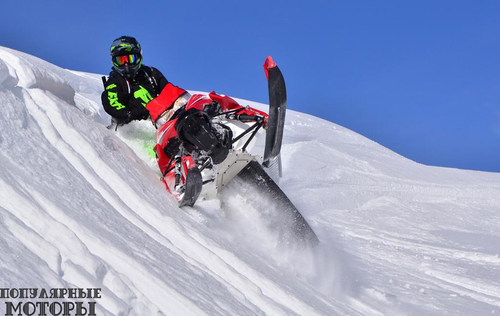 Фото анонса снегоходов Yamaha 2016 года
