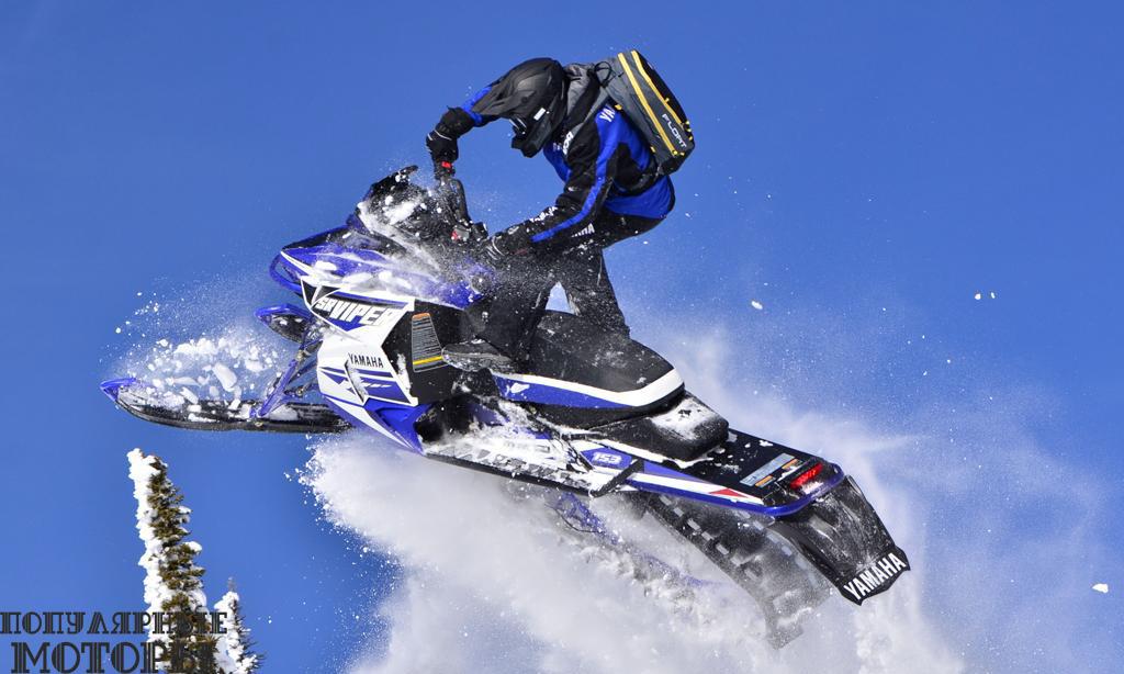 Yamaha M-TX SE 2016 - фото анонса снегоходов Yamaha 2016
