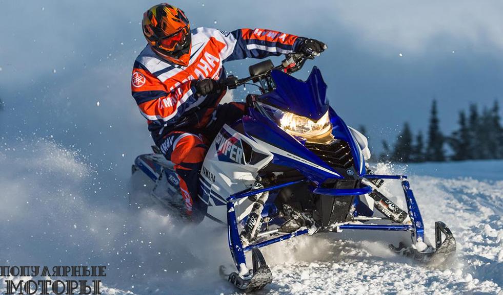 Анонс снегоходов Yamaha 2016 года