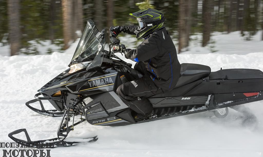 Новый Viper S-TX 146 DX получит удлинённую 146-дюймовую гусеницу Ripsaw II и задний дополнительный бензобак на 15 литров