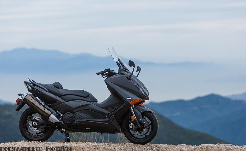Для Yamaha TMAX 2015 есть только один цвет —чёрный.