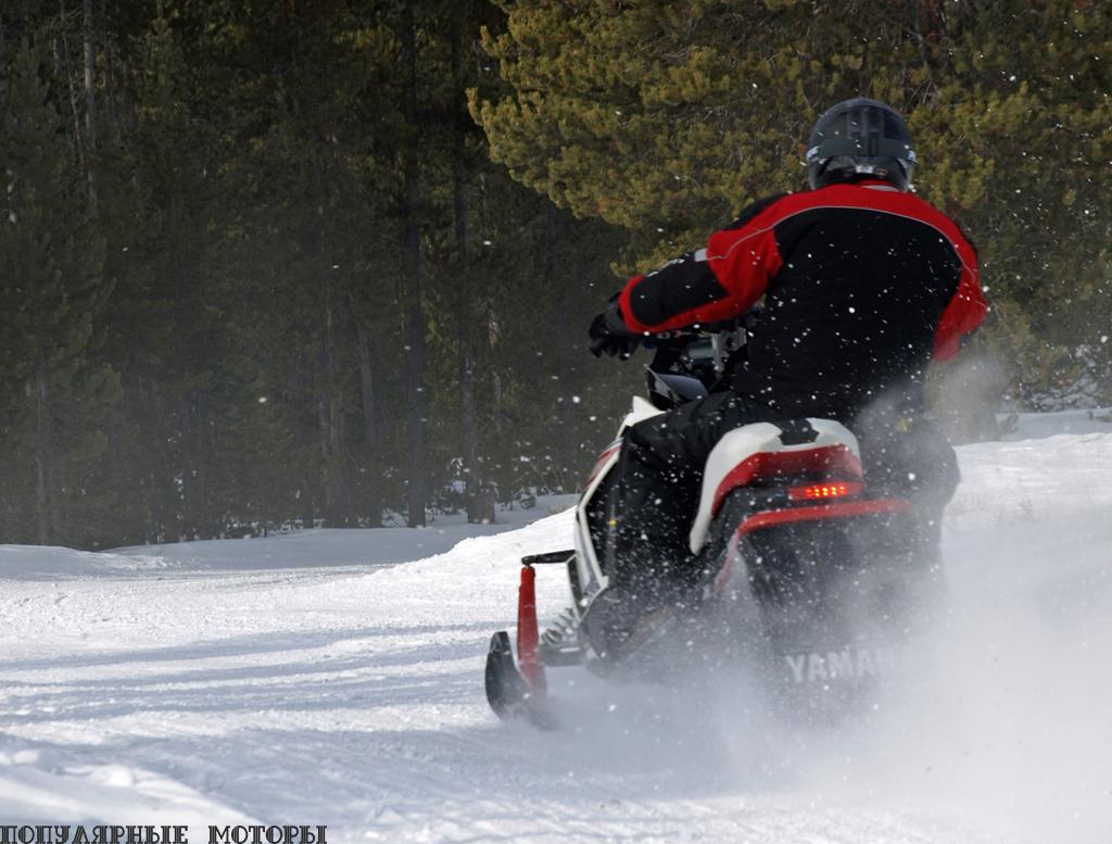 Если ваш друг будет ездить на турбированном Viper LTX LE, готовьтесь чаще всего лицезреть именно эту часть его снегохода.