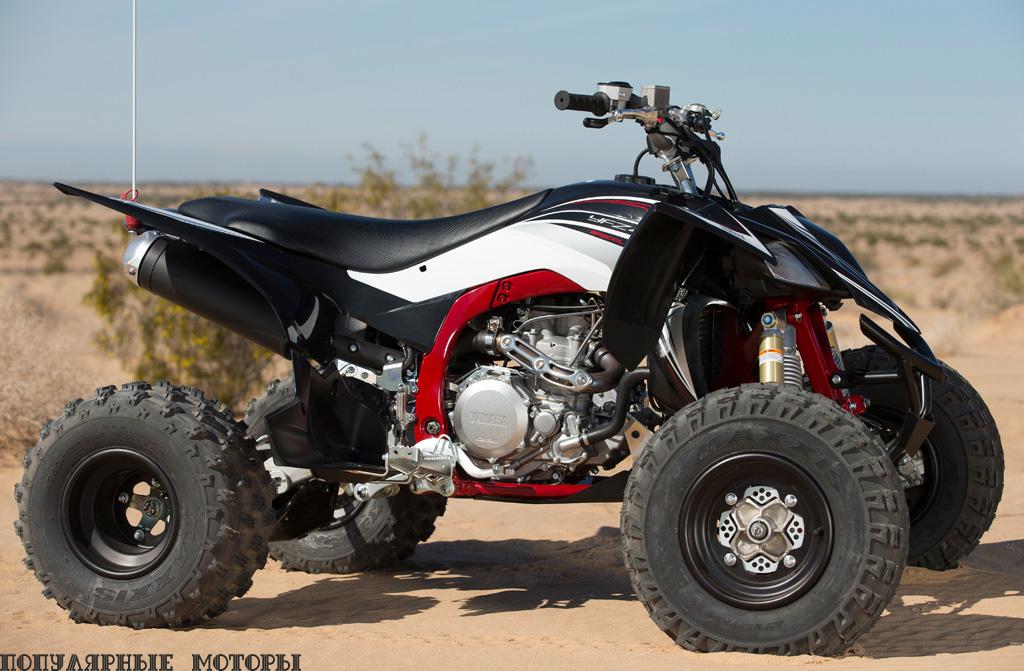 Фото Yamaha Raptor 700R SE и YFZ450R SE 2015