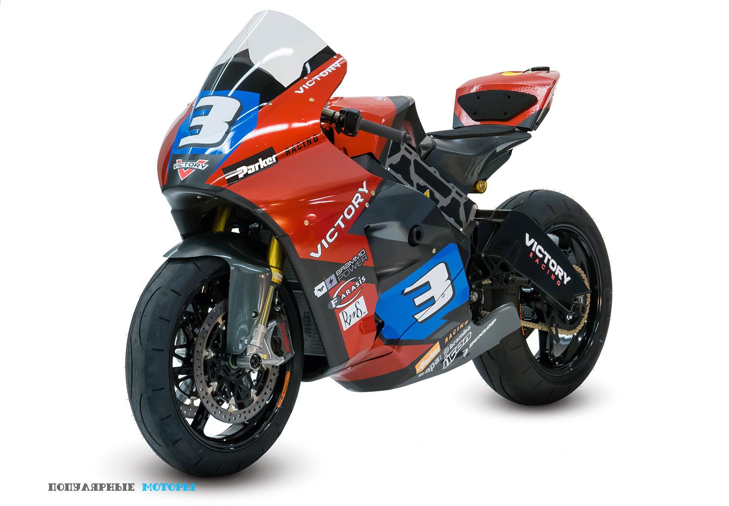 """Стикер """"Brammo Power"""" на обтекателе, имеющий форму батарейки, даёт понять, какое направление теперь выберет бывший производитель мотоциклов."""