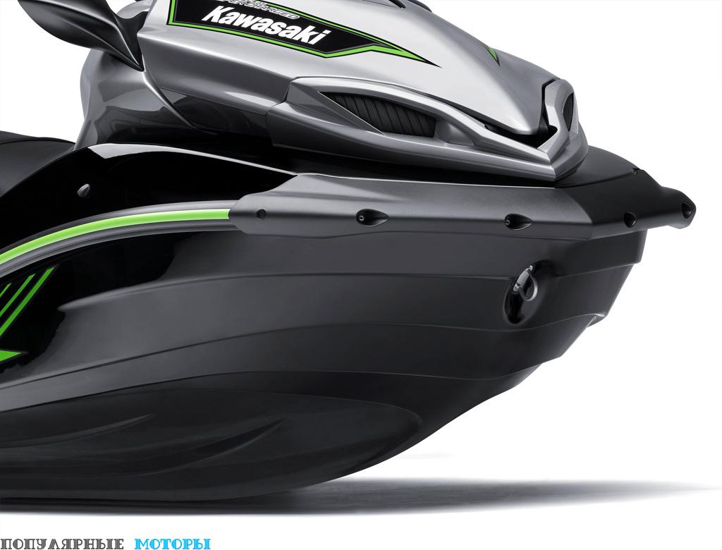 Корпус Ultra 310X —возможно, лучший в индустрии по части устойчивости на волнении.