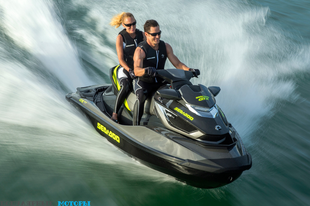 Sea-Doo GTX Limited iS 260 увешан аксессуарами и новейшими технологиями, но в его основе лежит впечатляющий гидроцикл, на котором очень весело кататься.