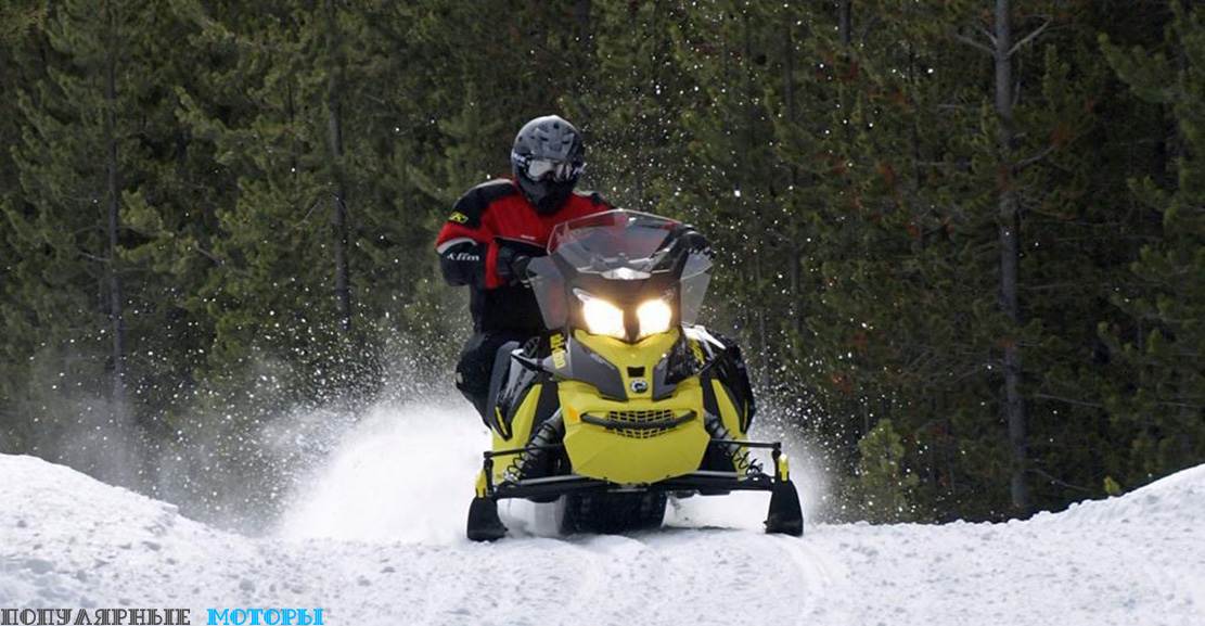 Обзор Ski-Doo MXZ TNT 1200 4-TEC 2016