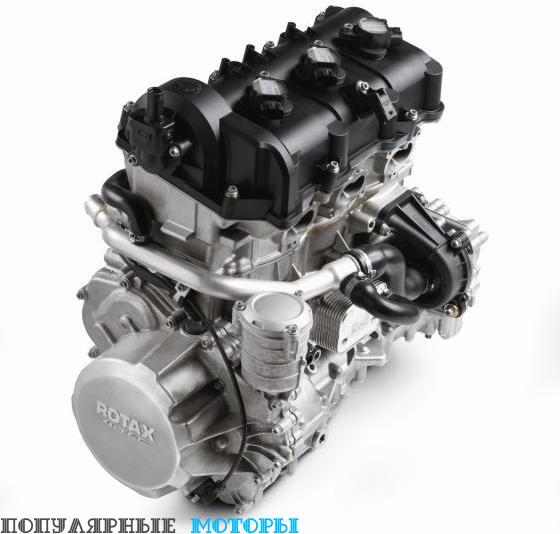 Представленный в 2009 модельном году четырёхтактный двигатель Ski-Doo объёмом 1100 «кубиков» получил улучшение производительности на низких и средних оборотов, а также зауженную выхлопную систему, благодаря которой мотор помещается в кузове REV-XS.
