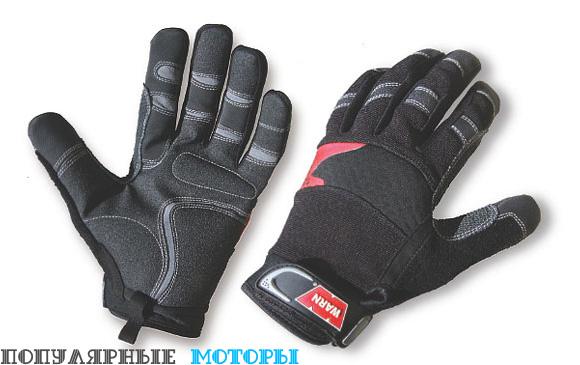 Рабочие перчатки - 10 советов по использованию лебёдки на квадроцикле