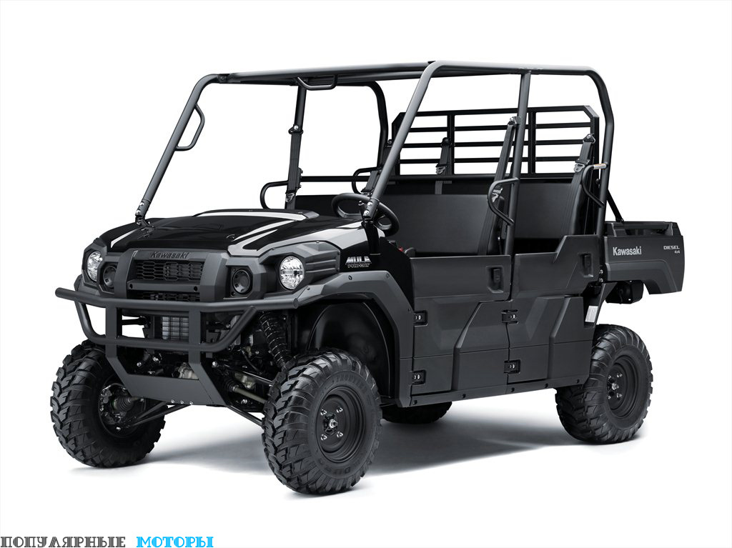 Mule Pro-DXT — та же машина, что и Mule Pro-FXT, за исключением дизельного двигателя объёмом 993 кубических сантиметра.