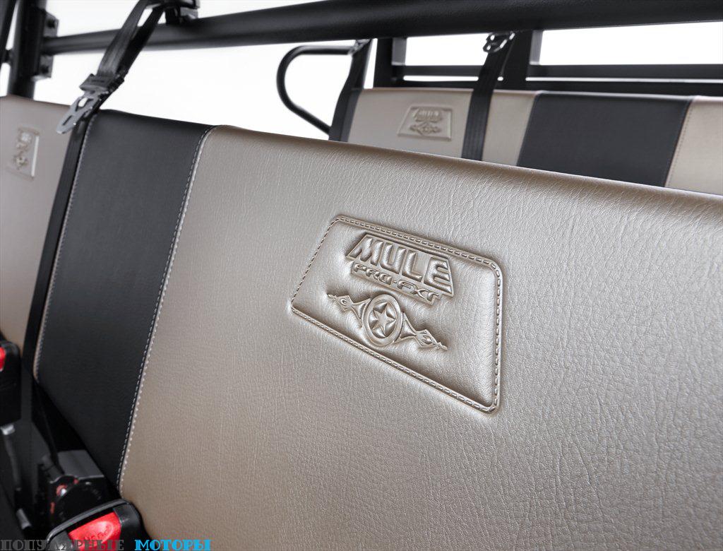 Логотипы Ranch Edition можно найти на сиденьях и кузове снаружи.