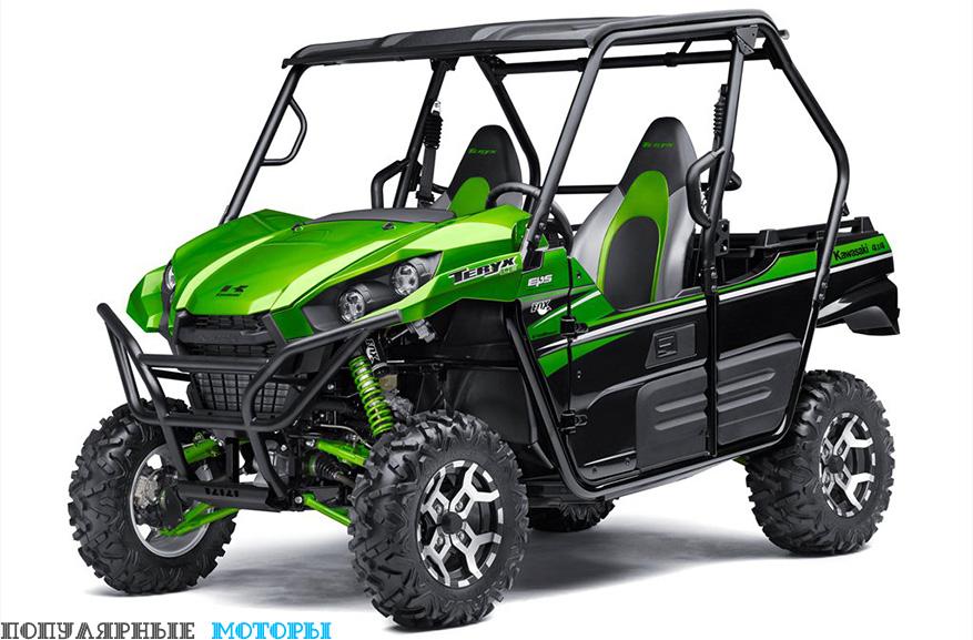 Анонс Kawasaki Teryx и Teryx4 2016