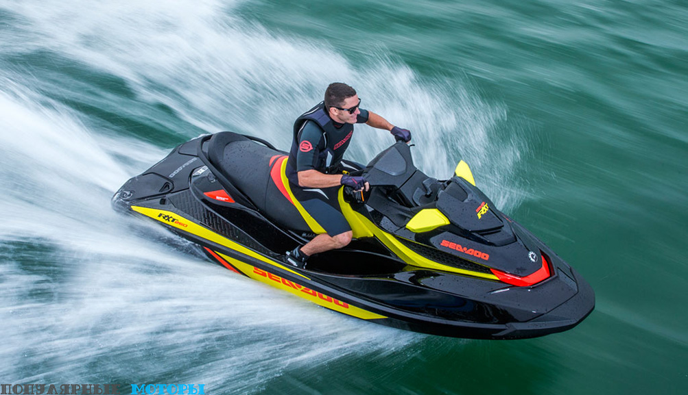 Обзор Sea-Doo RXT 260 2015
