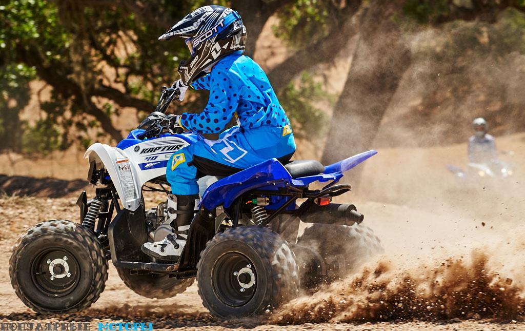 Фото Yamaha Raptor 90 2016 месим — фото анонса Yamaha Raptor 90 2016