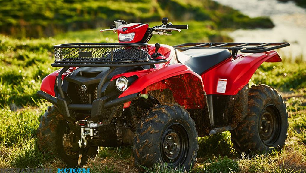 Анонс Yamaha Kodiak 700 2016
