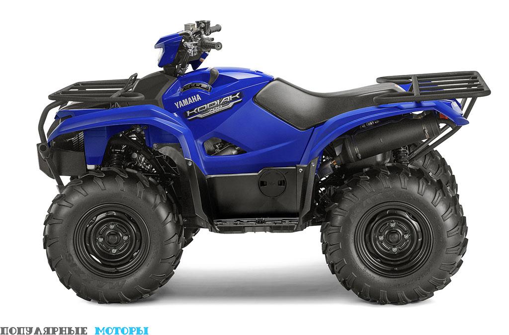 Yamaha Kodiak 700 2016 EPS Blue вид слева — фото анонса Yamaha Kodiak 700 2016