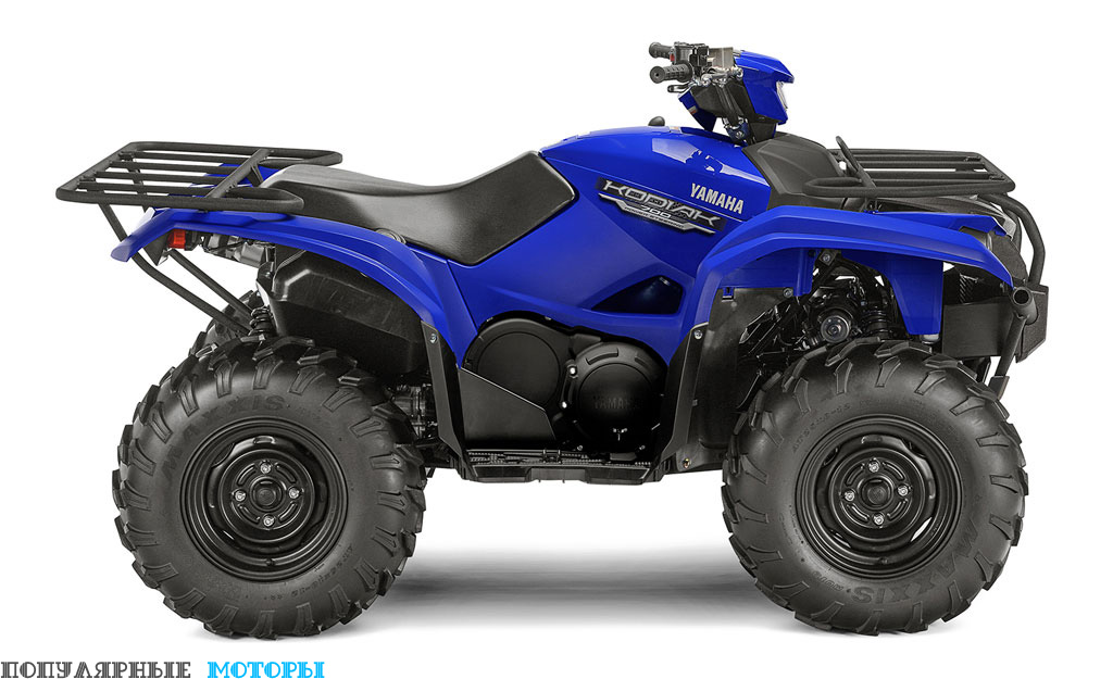 Yamaha Kodiak 700 2016 EPS Blue вид справа — фото анонса Yamaha Kodiak 700 2016