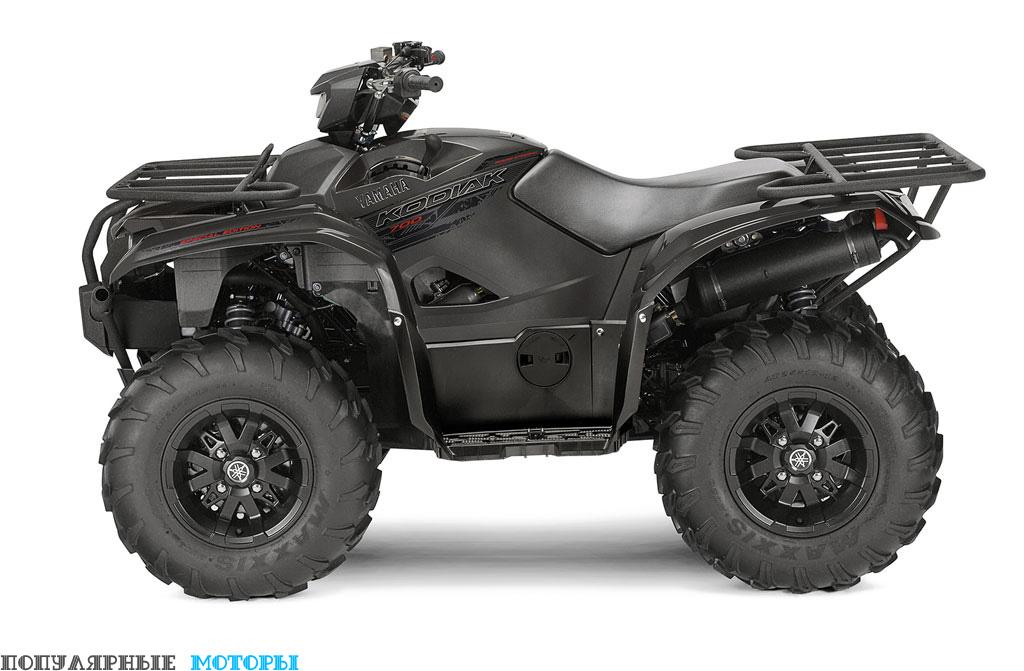Yamaha Kodiak 700 2016 EPS SE вид слева — фото анонса Yamaha Kodiak 700 2016