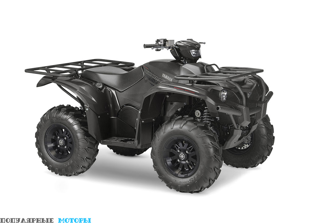 Yamaha Kodiak 700 2016 EPS SE вид справа спереди — фото анонса Yamaha Kodiak 700 2016