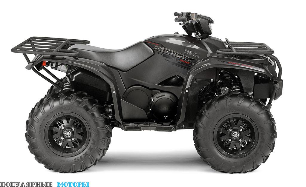 Yamaha Kodiak 700 2016 EPS SE вид справа — фото анонса Yamaha Kodiak 700 2016