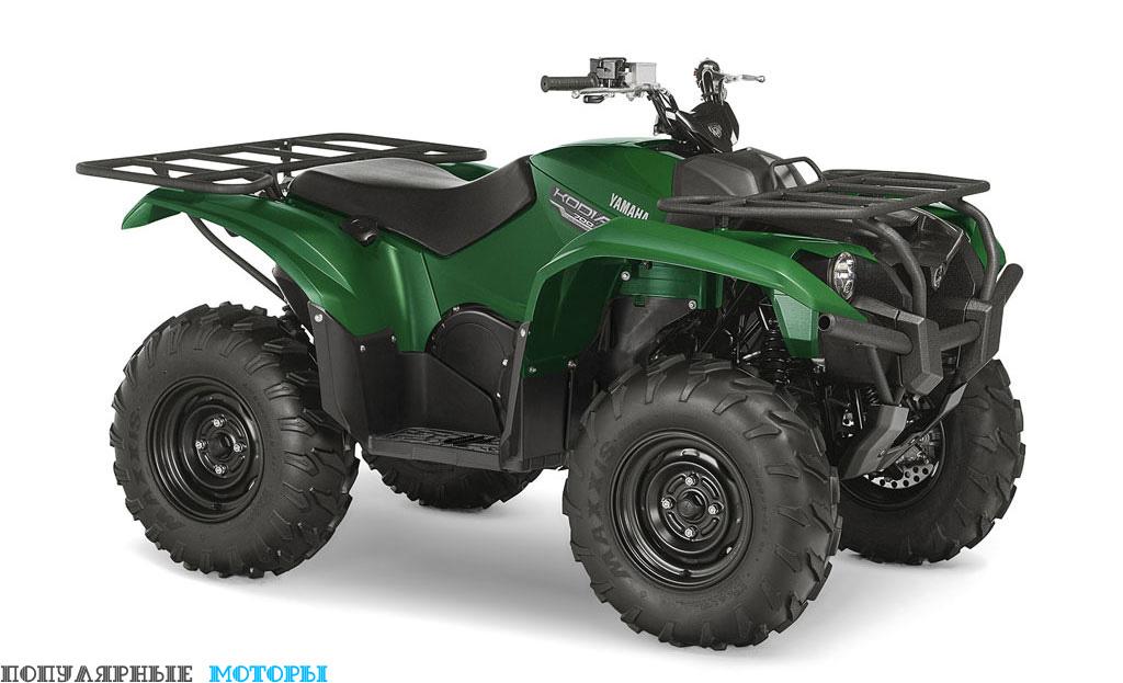Yamaha Kodiak 700 2016 Green вид справа спереди — фото анонса Yamaha Kodiak 700 2016